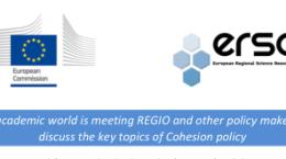 DG REGIO ERSA Lecture series