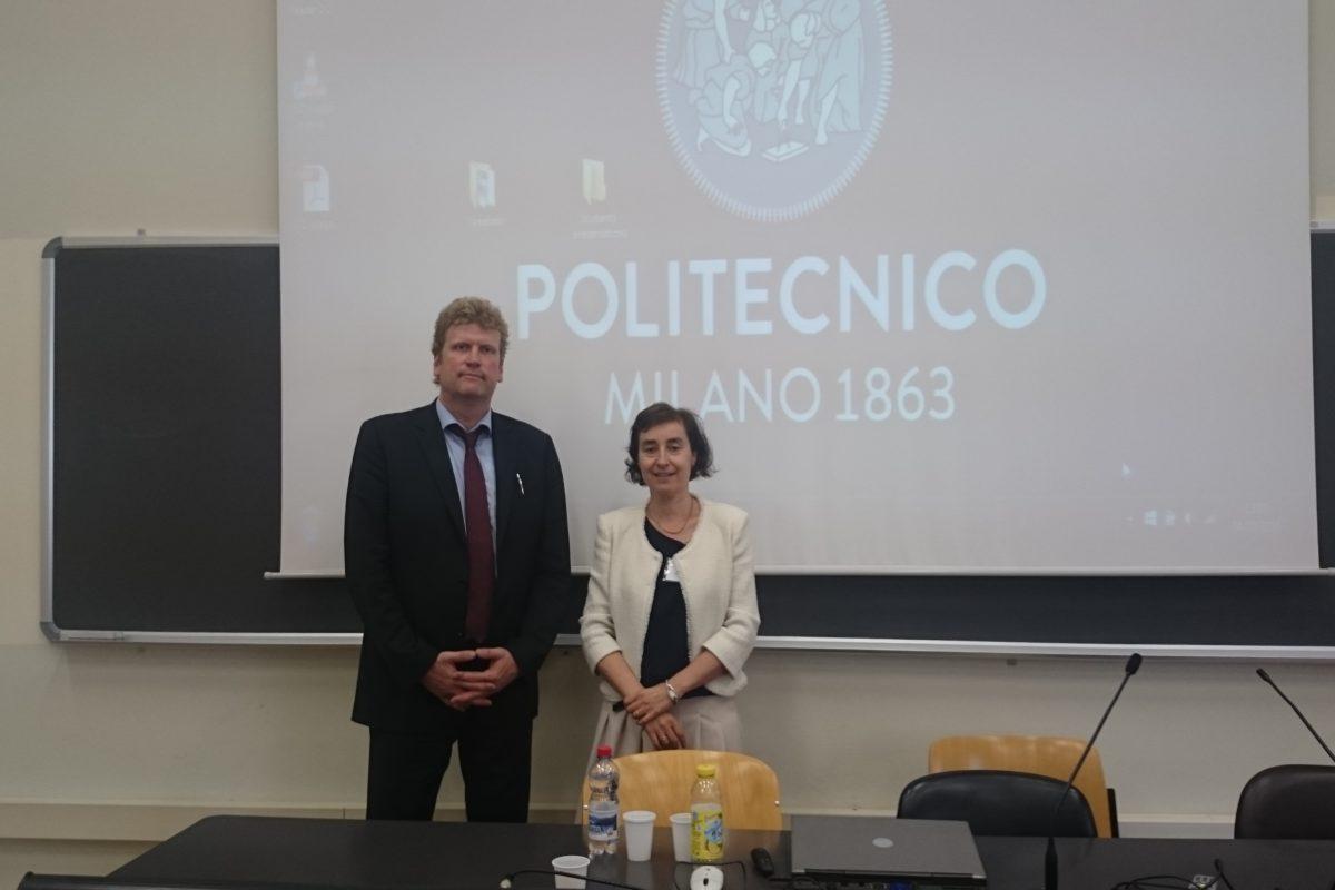 Prof. Ansgar Belke and Prof. Roberta Capello
