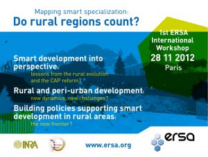ERSA Workshop 2012 Paris
