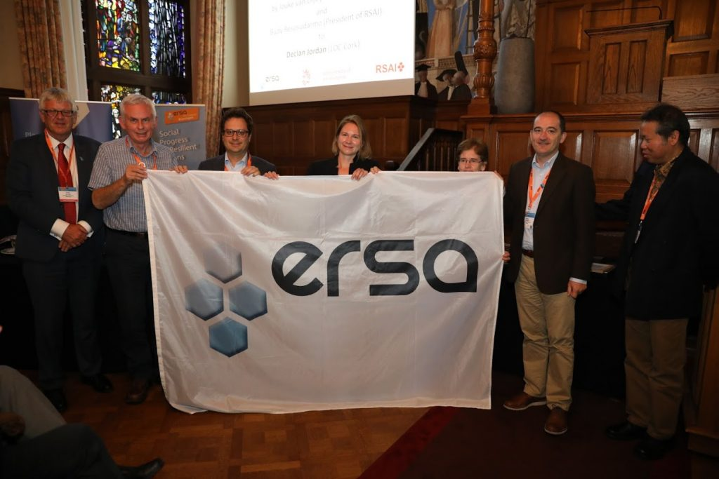 Cork Receives the ERSA Flag