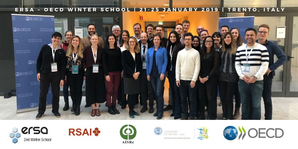 Successful Week for the ERSA Winter School in Trento