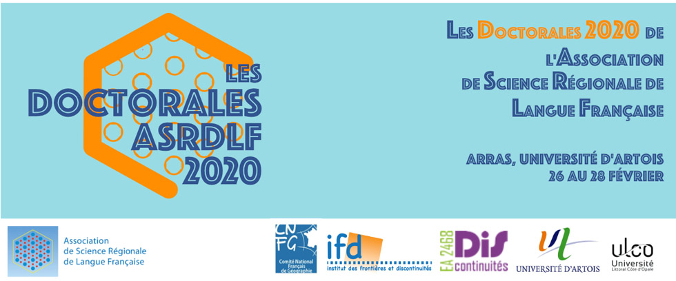 French Speaking Section: Doctoral Student Conference 2020 of ASRDLF