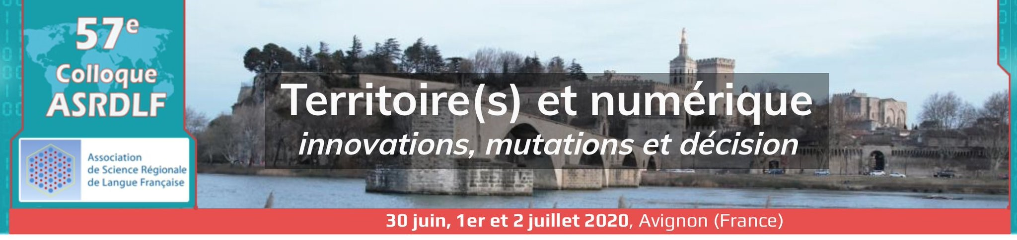 French Speaking Section 57th ASRDLF Colloquium