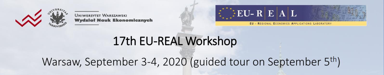 17th EU-REAL Meeting 2020