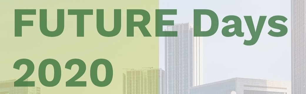 FUTURE Days 2020: Sciences and Public Policy for Cities
