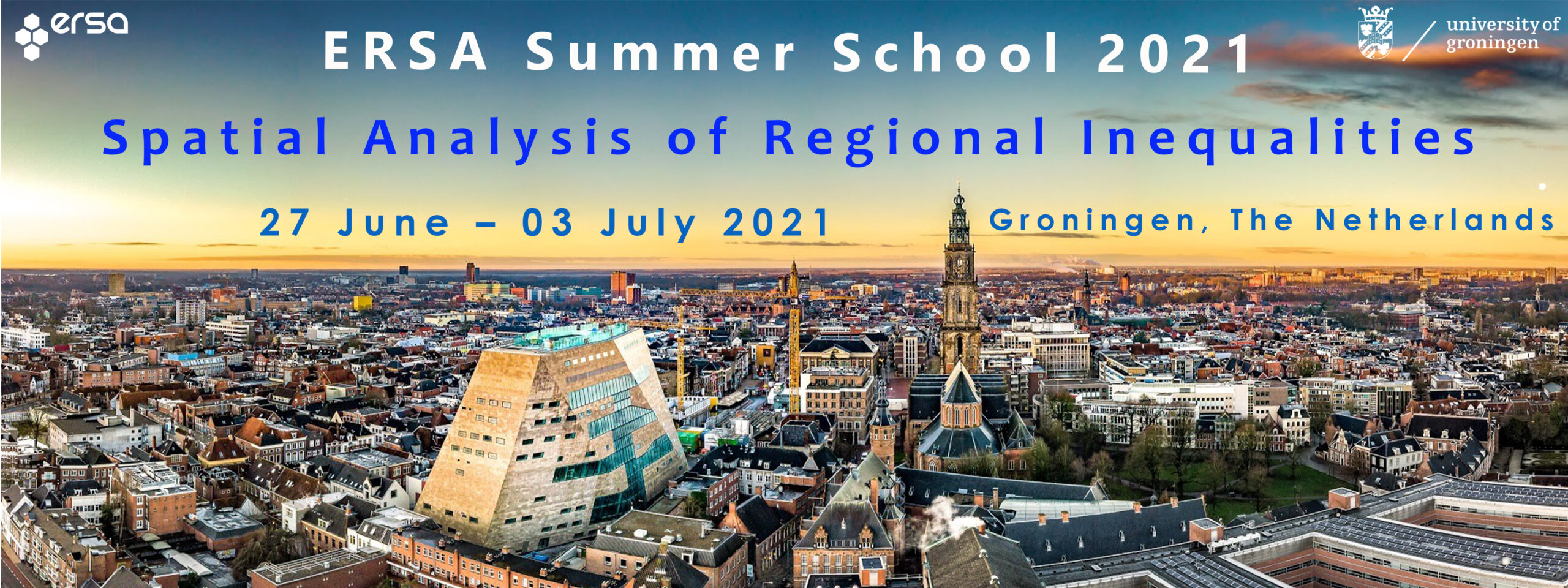 34th ERSA Summer School