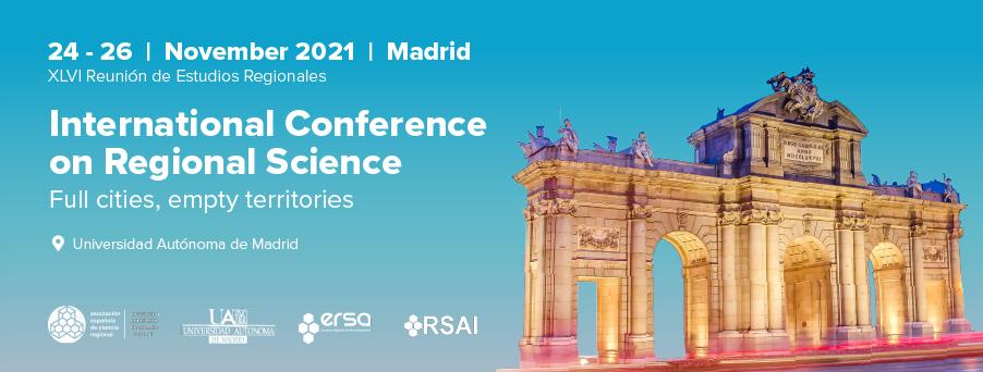 Spanish Section: XLVI International Conference on Regional Science
